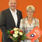 Bundestagsabgeordneter Bernd Rützel und Heidi Wright MdB a.D.