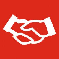 Piktogramm - Ein Handschlag