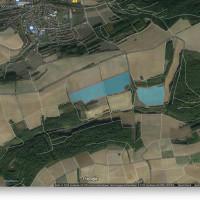 Geplante Solaranlage Gemarkung Thüngen